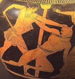 Pasifae e il Minotauro